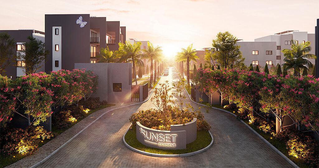 Sunset Garden 1
